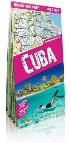 Cuba, mapa de carreteras plastificado. Escala 1:650.000. TerraQuest. (Adventure Map) por VV.AA.