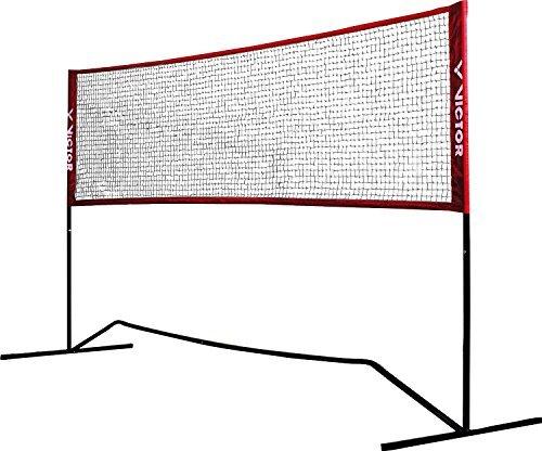 VICTOR Premium Multifunktionsnetz - Badminton, Tennis, Fußballtennis uvm. - 300 cm breit - höhenverstellbar
