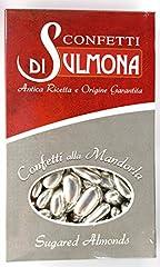 Idea Regalo - Confetti di Sulmona Nozze d'Argento Confetti con Mandorla Argento - 1000 gr