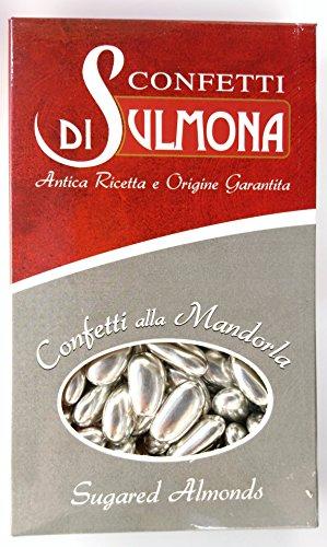 Confetti di sulmona nozze d'argento confetti con mandorla argento - 1000 gr