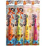 Signal - Cepillo junior surtido, pack de 6