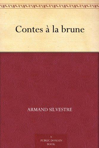 Couverture du livre Contes à la brune