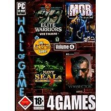 4Games Vol. 4 (Elite Warriors Vietnam / Mob Enforcer / Navy Seals 2 / Vivisector) [import allemand]