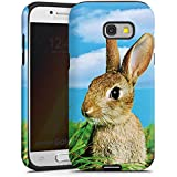 Samsung Galaxy A3 2017 Hülle Tough Case Schutzhülle Rabbit Kaninchen Hase