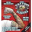 Novelty Tattoo Sleeves (2 sleeves in set)