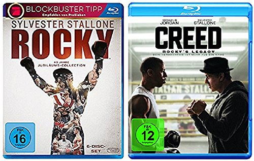 Rocky Blu-ray Box The Complete Saga + Creed - Rocky's Legacy Blu-ray [Blu-ray Set] -