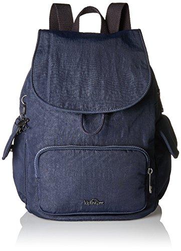 Kipling - City Pack S, Mochilas Mujer, Blau (Deepest Blue), 27x33.5x19 cm (B x H T)