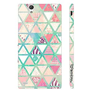 Sony Xperia C4 Chevy Triangles designer mobile hard shell case by Enthopia