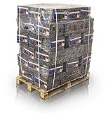 Hartholzbriketts achteckig mit Loch 96 x 10 kg volle Palette - Buche und Eiche