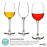 MICHLEY Unzerbrechliche Weingläser, 100% Tritan-Kunststoff bruchsicher Weinbecher, BPA-frei, Spülmaschinenfest 360ml, 4er Set - 3