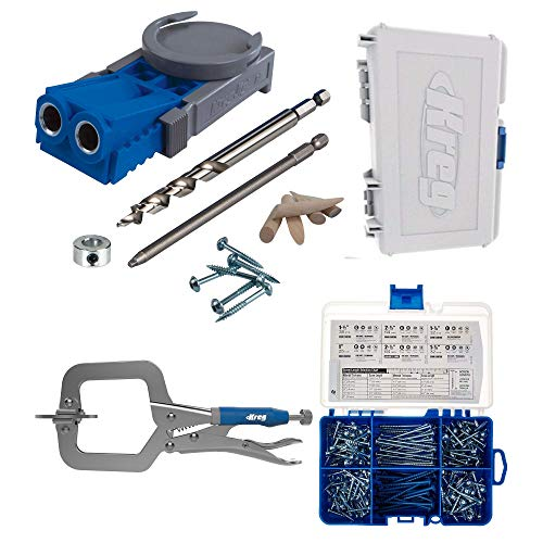 Kreg R3 Master System Mit SK04 Pocket Hole Screw Starter Kit -