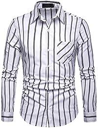 ODRD Hoodie Sweatshirt Männer Langarm Streifen Malerei Große Größe Casual  Top Bluse Shirts Casual Langarm Pullover T-Shirt Top… 9b06367466