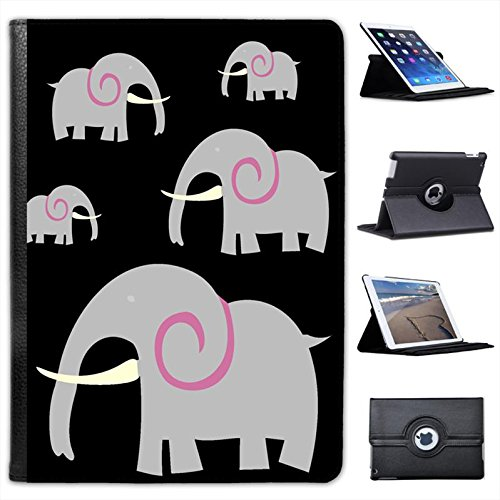 african-indian-grey-elephant-with-huge-tusk-for-apple-ipad-air-2-faux-leather-folio-presenter-case-c