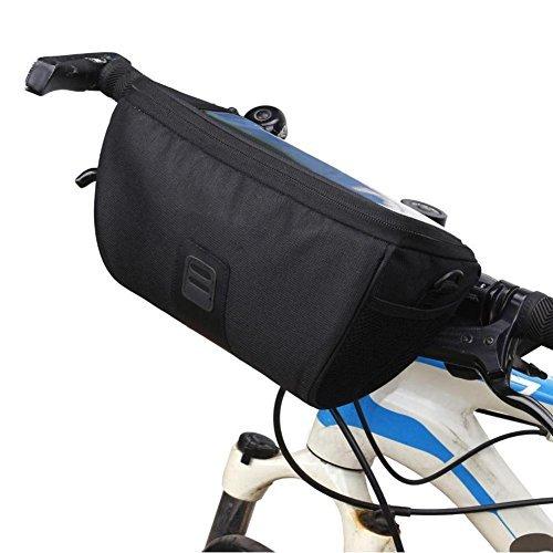 Broadroot Bolsa de manillar delantero para bicicleta, multifunción, para ciclismo, MTB, plegable, para bicicleta