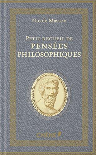 Petit recueil de penses philosophiques: NED 2018