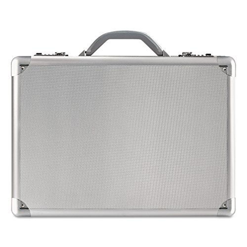 USLAC10010 - Computer Attache, Aluminum, 18x5x13-1/4, Silver by U.S. Luggage