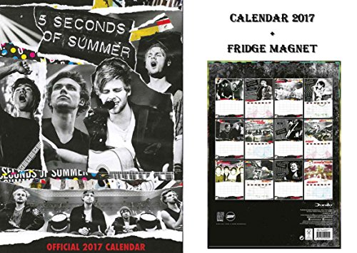 5-seconds-of-summer-official-2017-calendario-5-seconds-of-summer-iman-del-refrigerador