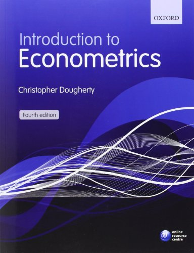 Introduction to Econometrics por Christopher Dougherty