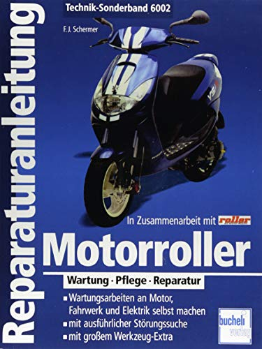 Motorroller: Wartung - Pflege - Reparatur (Reparaturanleitungen)