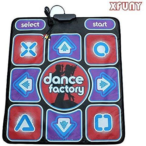 XFUNY (TM) High Sensitive PC USB Non-slip Dancing Step Dance Mat/Pad Dancing Blanket for PC by
