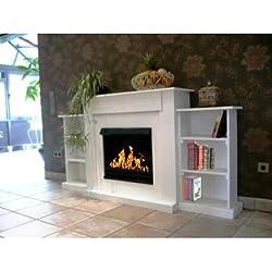Gel Chimenea Oriental / BBT-10001230 / Para el uso con el Fuego-Gel o Bio-Etanol / Por último: Bienes Fuego - NO cenizas, polvo o humo! / Chimeneas