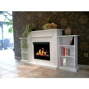 Gelkamin Ethanolkamin Oriental / Für Brenngel oder Bio-Ethanol / BBT-10001230 / Echtes Kamin-Feuer ohne Rauch, Asche oder Staub