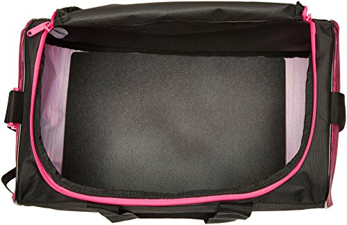 Adidas diablo piccola borsa, donna, Storm Grey, Taglia unica Black/Shock Pink