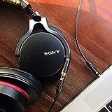 iVanky Aux Kabel, 3,5mm Audio Kabel, 1,2 M/2-Pack (Kupferhülse/Hi-Fi Sound), Klinkenkabel klinkenstecker kompatibel mit Kopfhörer Beats Bose, Echo dot, Smartphones, MP3 Player und mehr - Schwarz - 6