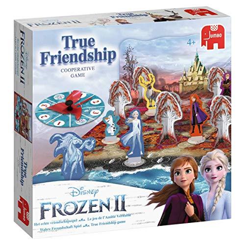 Jumbo 19741 Disney Frozen Jeu d'amitié 2 Vrais Multicolore