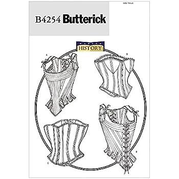 Butterick Nähmuster - 4669 Historisches Kostüm Korsettes: Amazon.de ...