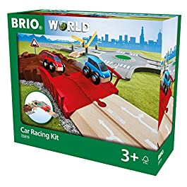 Brio 33819World-Car Racing Kit, Multicolore