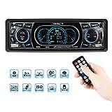Favoto Autoradio FM Bluetooth 60W*4 MP3 Stereo per Auto Con Dual Porte USB/ Micro SD Ingresso AUX...