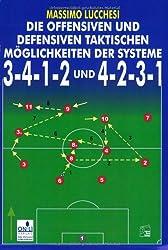 Die offensiven und defensiven taktischen Möglichkeiten der Systeme 3:4:1:2 und 4:2:3:1