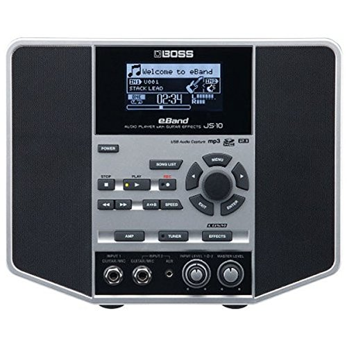 BOSS JS-10E-Band Audio Player Jam Station with Effects