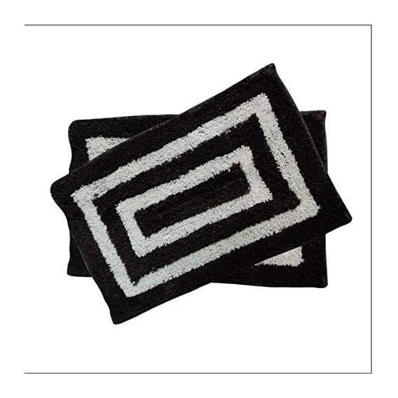 SR Production Door Glorious Super Soft Cotton Pure Cotton Anti Skid Water Obsorbing Door Mats for Home() (Size:- 16inch x 24inch)