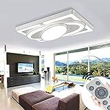 MYHOO 78W Dimmbar LED Deckenleuchte Modern Deckenlampe Schlafzimmer Küche Flur Wohnzimmer Lampe Wandleuchte Energie Sparen Licht [Energieklasse A++]