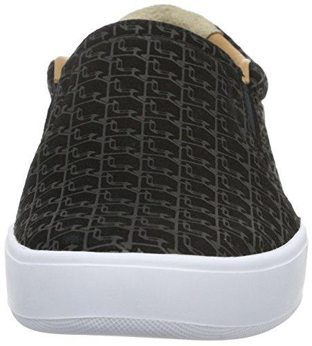 Lacoste Tamora Slip 116 2 Caw Blk, Baskets Basses Femme Noir - Schwarz (Black-024)