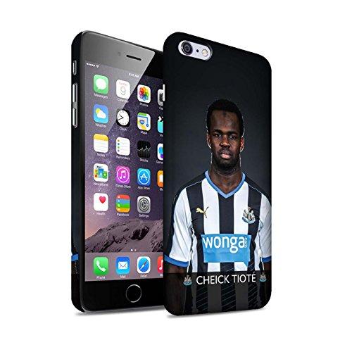 Officiel Newcastle United FC Coque / Clipser Matte Etui pour Apple iPhone 6S+/Plus / Janmaat Design / NUFC Joueur Football 15/16 Collection Tioté