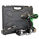HITACHI Perceuse visseuse a percussion 2x18V 1,5Ah Lithium