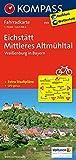 Eichstätt - Mittleres Altmühltal - Weißenburg in Bayern: Fahrradkarte. GPS-genau. 1:70000 (KOMPASS-Fahrradkarten Deutschland, Band 3103) -