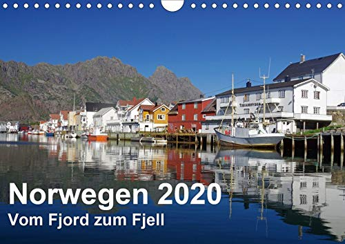 Norwegen 2020 - vom Fjord zum Fjell (Wandkalender 2020 DIN A4 quer): Norwegens faszinierende und vielfältige Landschaften in wunderbaren Lichtstimmungen. (Monatskalender, 14 Seiten ) (CALVENDO Orte)