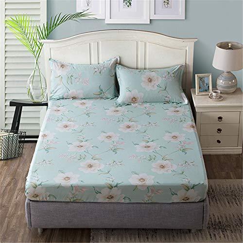 Comeyang Protección del colchón, Lavado a máquina repetible, Transpirable Impermeable Prueba de Moho,Funda de Cama Funda de colchón 13 150X200 + 25cm
