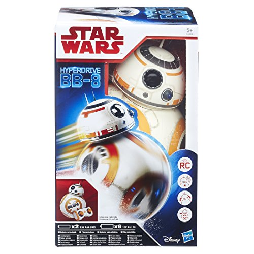 Star Wars Episode 8 – C1439EU40 – Radiocommande – BB8 Deluxe