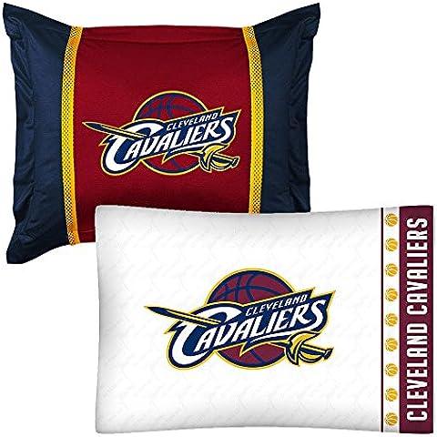 2pc NBA Cleveland Cavaliers funda de almohada y funda de almohada Sham juego de baloncesto Logo del equipo ropa de cama accesorios