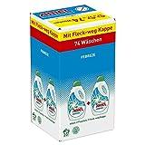 Ariel mit Febreze Vollwaschmittel Flüssig, 1er Pack (1 x 74 Waschladungen)