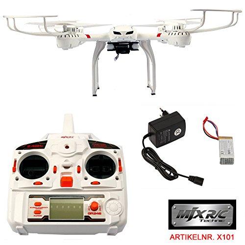 Preisvergleich Produktbild FunTomia Quadrocopter MJX X101 RC Drohne Wifi 6-Axis Gyro Quad-copter Real Time 2.4 GHz inkl. Lithium - Polymer 7,4V Akku inkl. Ladegerät