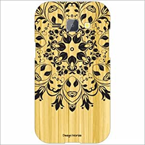 Design Worlds Silicon Back Cover For Samsung Galaxy J1 - Phone Cover Multicolor