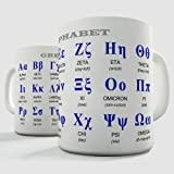 Greek Alphabet Educational Gift Mug