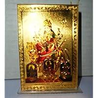 Artcollectibles India indù dea ma Durga religiosi scultura statua ufficio Navratri tempio auto - Scultura Auto