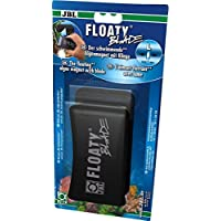 JBL Floaty Blade 6135200 Schwimmender Scheiben-Reinigungsmagnet mit Klinge für dicke Aquarienscheiben, L